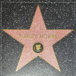 Dudley Moores star on Hollywood Walk of Fame — ストック写真