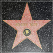 Johnny Depps star on Hollywood Walk of Fame - Zdjęcie stockowe