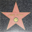 Lionel Richies star on Hollywood Walk of Fame - Zdjęcie stockowe