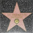 The original 5th dimensions star on Hollywood Walk of Fame - Zdjęcie stockowe