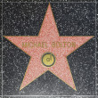 Michael Boltons star on Hollywood Walk of Fame - Stock Photo