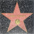 Donna Summers star on Hollywood Walk of Fame - Stock Photo