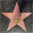 Tom Hanks star on Hollywood Walk of Fame - Stock Photo
