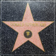 Donald Sutherlands star on Hollywood Walk of Fame - Stock Photo