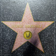 George Marshalls star on Hollywood Walk of Fame - Stock Photo