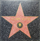 Glenn Closes star on Hollywood Walk of Fame — Stock Photo