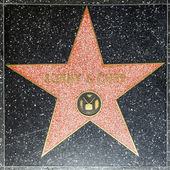 Sonny & Chers star on Hollywood Walk of Fame — Stock Photo