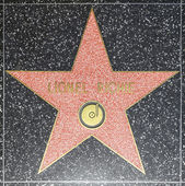 Lionel Richies star on Hollywood Walk of Fame — Stock Photo