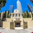 Public library downtown Los Angeles — Stock Photo
