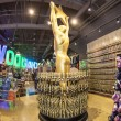 Oscar statues offered in shops inHollywood — 图库照片