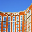 Treasure Island Hotel and Casino — Stock Photo