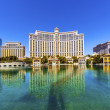 Luxury hotel Bellagio in Las Vegas — Stock Photo