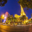 Paris Las Vegas hotel and casino in Las Vegas — Stok fotoğraf