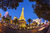 巴黎拉斯维加斯酒店和赌场拉斯维加斯 — 图库照片