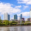 City of Frankfurt, Germany - Stock Photo
