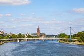 Ciudad de frankfurt, Alemania — Foto de Stock