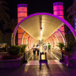 Entrance of Ballys Hotel and Casino on the Vegas Strip in Las Ve - Stock Photo