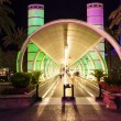 Entrance of Ballys Hotel and Casino on the Vegas Strip in Las Ve - Stock fotografie