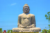 Giant Buddha in Bodhgaya, Bihar, India. — Stock Photo