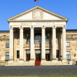 Famous historic Casino and Kurhaus  in Wiesbaden - Stock Photo
