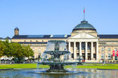 Famous historic Casino and Kurhaus in Wiesbaden — Stock Photo