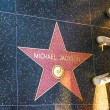 Michael Jacksons star on Hollywood Walk of Fame — Stock Photo