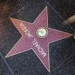 Michael Jackson's star on Hollywood Walk of Fame — Stock Photo