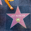 Постер, плакат: Jack Nicholsons star on Hollywood Walk of Fame