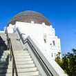 Observatory in Griffith park in Los Angeles — Stock Photo