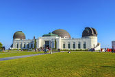 Visit the Griffith observatory — Stock Photo