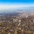 Stock Photo: Aerial of Los Angeles