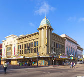 Facade of historic theater Gaslamp 15 — Stock Photo