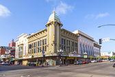 Facade of historic theater Gaslamp 15 — Stock Photo