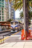 Diesel locomotive, San Diego, California. — Stock Photo