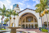 Historic Union Station in San Diego — Stock Photo