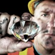 Stock Photo: Diamond Miner