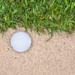 Golf ball - Foto Stock