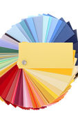 Color samples — Stock Photo
