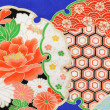Stock Photo: Pattern of japanese kimono