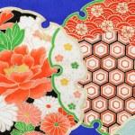 Pattern of japanese kimono — Stock Photo