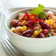 Bean and Corn Salad with Chili — Stock Photo #11478561