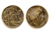 Australian Dollar Front and Back — Stock Photo