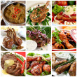 Meat Meals Collection - Stock Photo