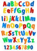 Alfabeto — Vector de stock