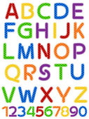 Alphabet — Stok Vektör