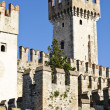 Stock Photo: Ancient castle in Sirmione, on GardLake, Italy