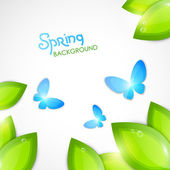 Spring abstract background — Stock Vector