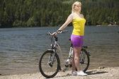 Randonnée à vélo — Photo