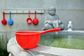 Red bucket — Stock Photo