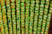 Kolorowe lampiony w świątyni buddyjskiej — Zdjęcie stockowe